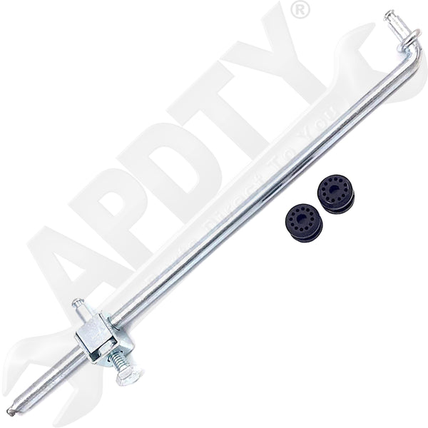 APDTY 141414 Transfer Case Shifter Linkage w/ Bushings Fits Manual Shift 271