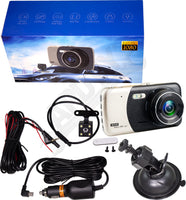 APDTY 141514 Universal 1080P Dual Rear Backup And/or Front Dash Dashboard Camera