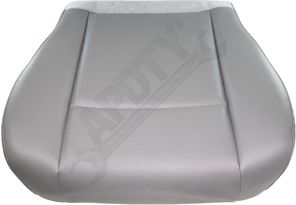 APDTY 141521 Seat Bottom Cushion Complete Light Gray Vinyl Upholstery Ford E Van