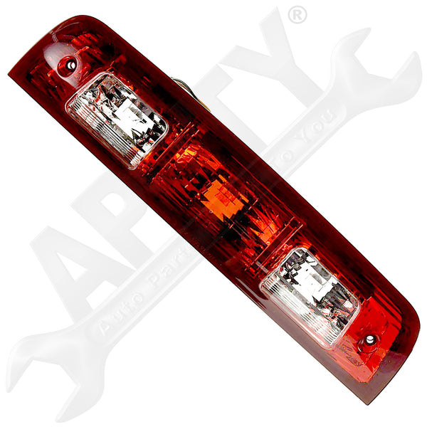 APDTY 141736 3rd Third High Mount Center Brake Light Lamp Assembly Ram Pickup
