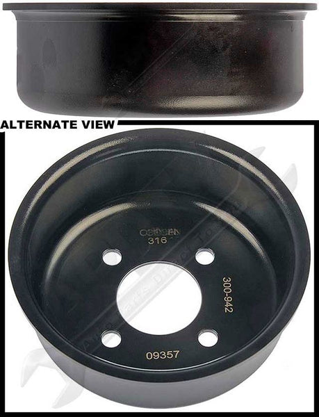 APDTY 411053 Water Pump Pulley