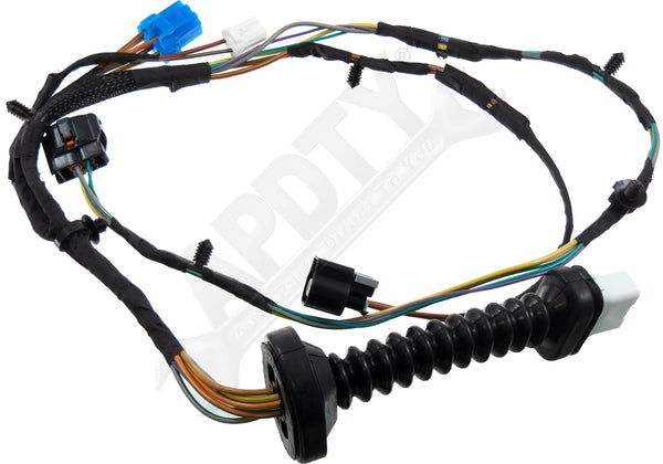APDTY 756617 Power Door Lock Wiring Pigtail Connector Harness Complete Assembly