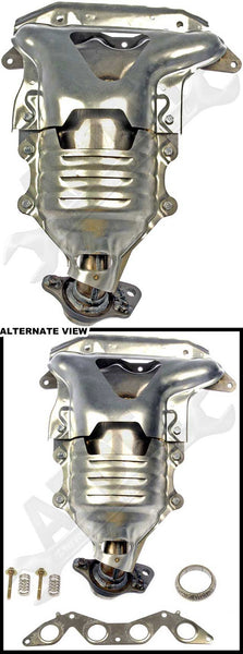 APDTY 784719 Exhaust Manifold Catalytic Converter Legal In California & New York