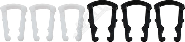 "APDTY 911134 Fuel Line Quick Disconnect Retaining Clip Set (3 Each 5/16"" & 3/8"")"
