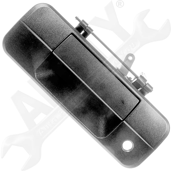 APDTY 92324 Tailgate Lift Latch Handle w/ Keyhole Fits 2007-2013 Toyota Tundra