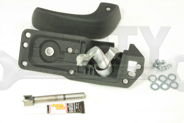APDTY 91485 Replacement Interior Door Handle Kit Left/Driver-Side