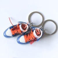 Jordan 1 - Retro High Off-White University Blue - Mini Sneaker Keychain 3D
