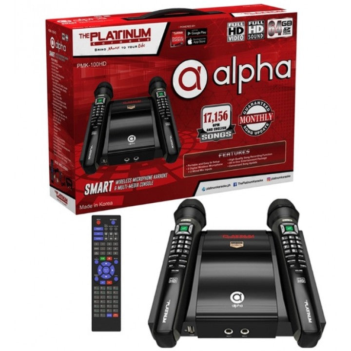 Alpha with Wireless Mic -