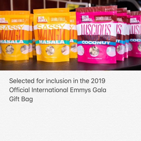 2019 Official International Emmys Gala Gift Bag
