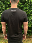 Men's Black slim fit T-shirt