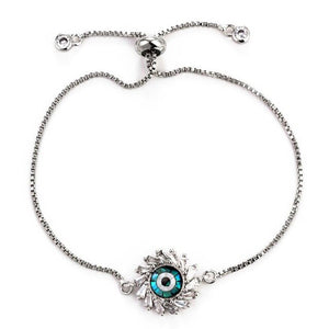 Sun Shaped Evil Eye Protection Bracelet