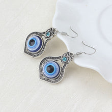 Load image into Gallery viewer, Bohemian Evil Eye Drop Protection Earrings - Evileyes.net