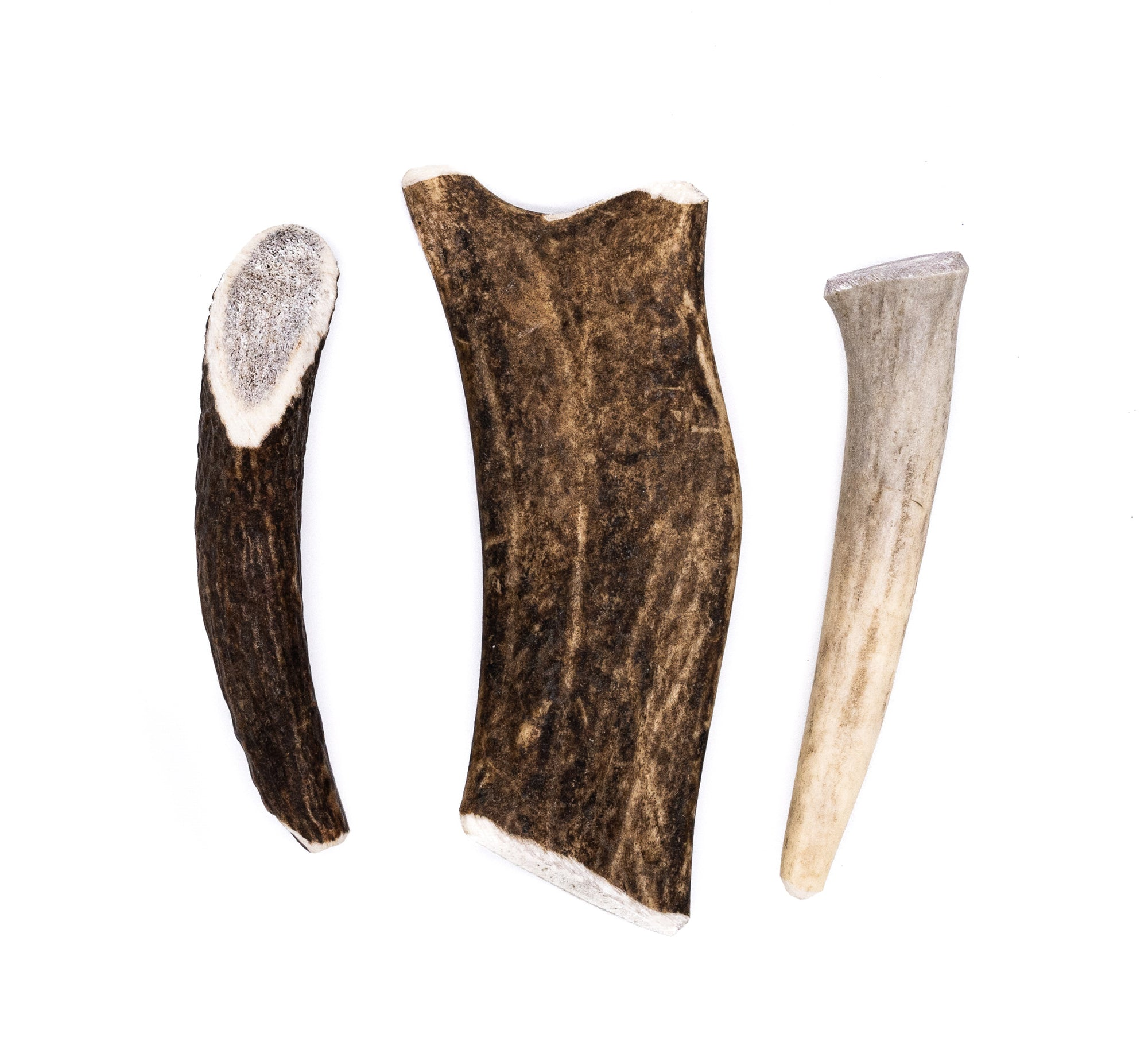 Miniature Antler Dog Chew Assortment