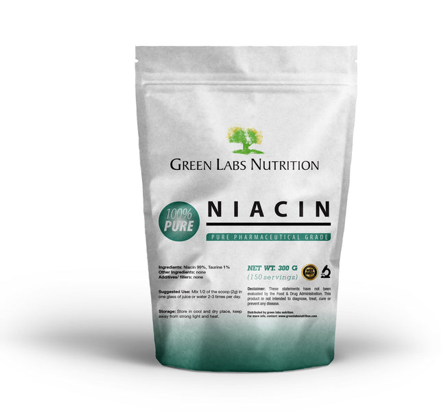 Niacin - a way to feel good.