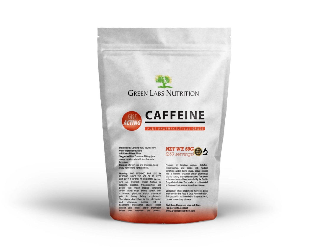 Caffeine + Taurine Powder - Green Labs Nutrition