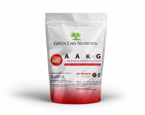 AAKG Arginine Alpha Keto Glutarate Powder - Green Labs Nutrition