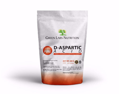 DAA D-Aspartic Acid Powder - Green Labs Nutrition
