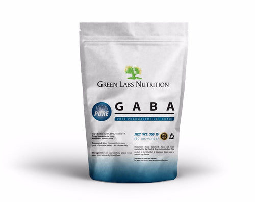 GABA Gamma Aminobutyric  Acid Powder - Green Labs Nutrition