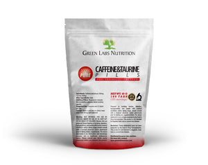 Caffeine 200mg Taurine 200mg Tablets - Green Labs Nutrition