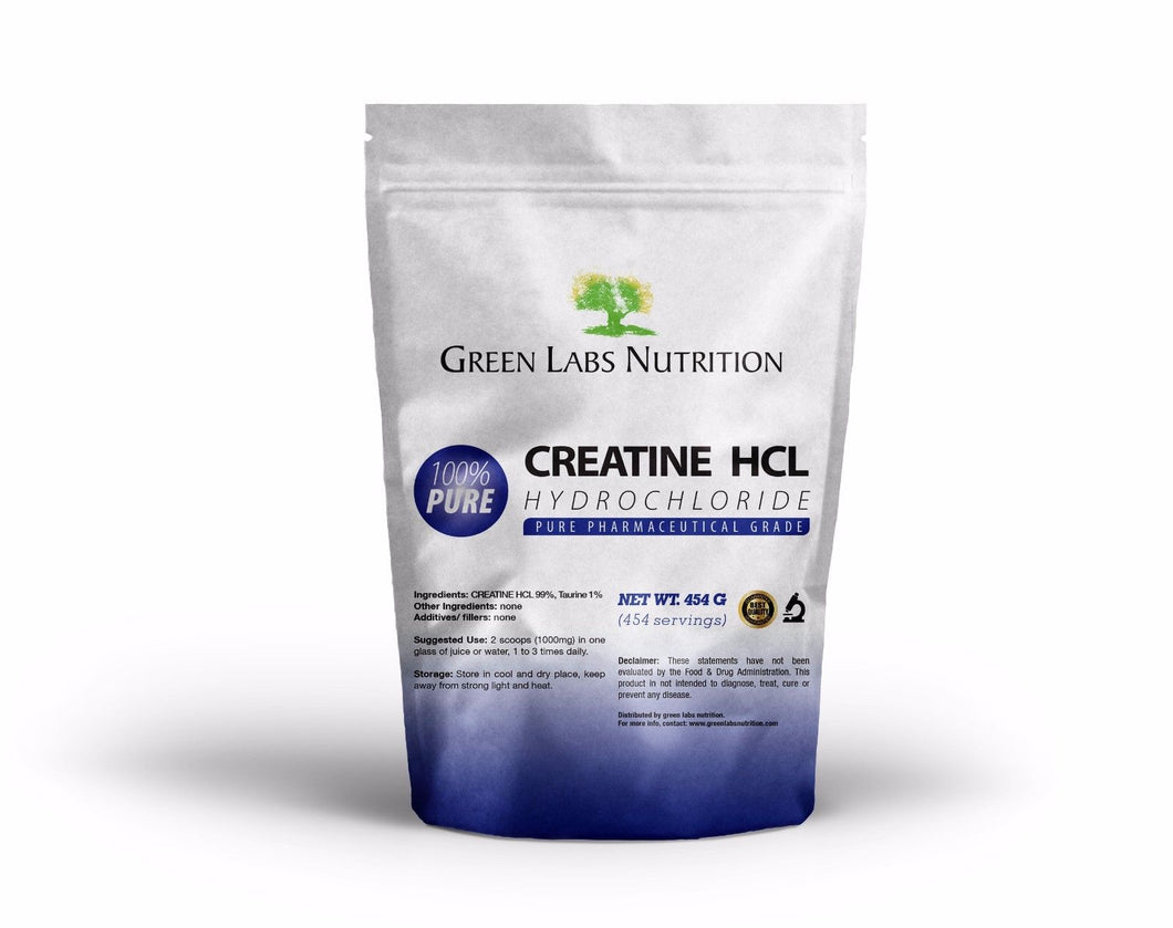 Creatine HCL Powder - Green Labs Nutrition
