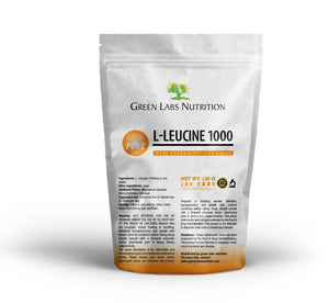 Leucine 1000mg Tablets - Green Labs Nutrition