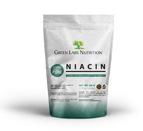 NIACIN Nicotinic Acid Powder - Green Labs Nutrition