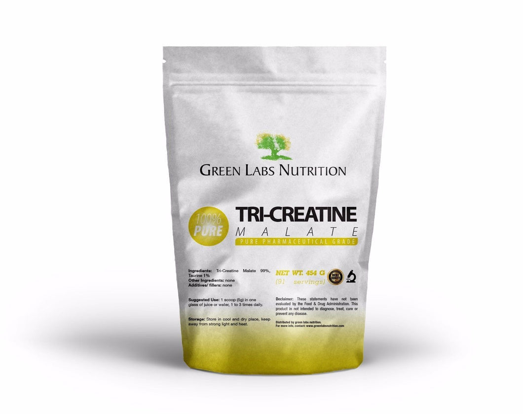 Tri Creatine Malate Powder - Green Labs Nutrition