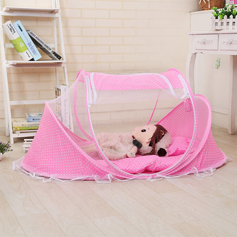 Portable Netting Baby Bed