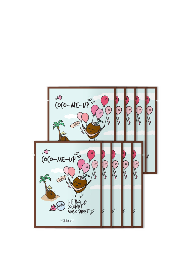 Coco-Me-Up Lifting Coconut Mask (10 Sheets)