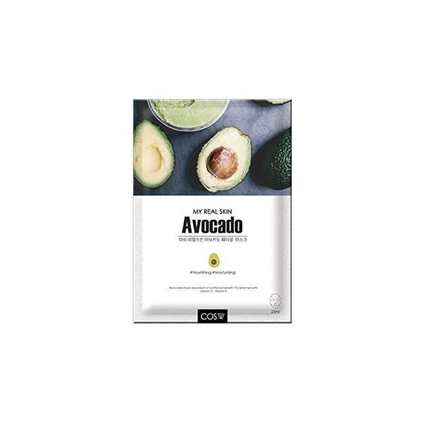 My Real Skin Facial Mask (1 Sheet) COS.W Avocado