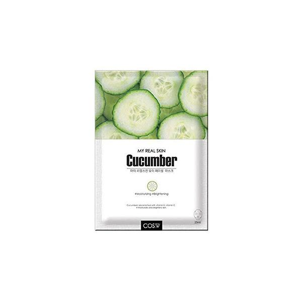 My Real Skin Facial Mask (1 Sheet) COS.W Cucumber