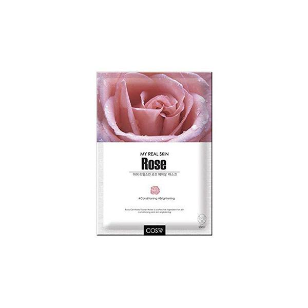My Real Skin Facial Mask (1 Sheet) COS.W Rose