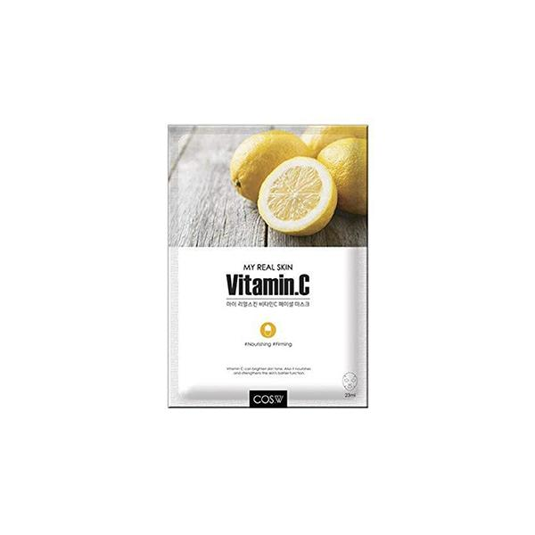 My Real Skin Facial Mask (1 Sheet) COS.W Vitamin C