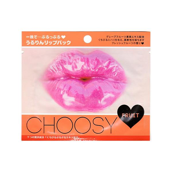 Choosy Lip Pack (1 Sheet) Pure Smile Fruit Mix