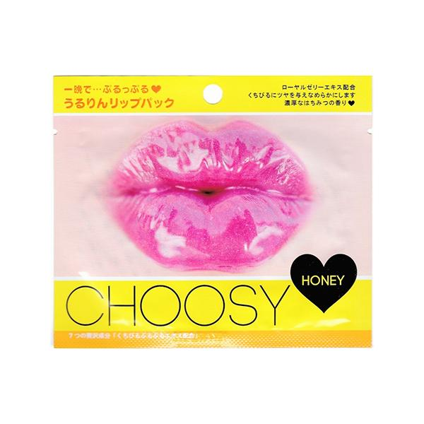 Choosy Lip Pack (1 Sheet) Pure Smile Honey