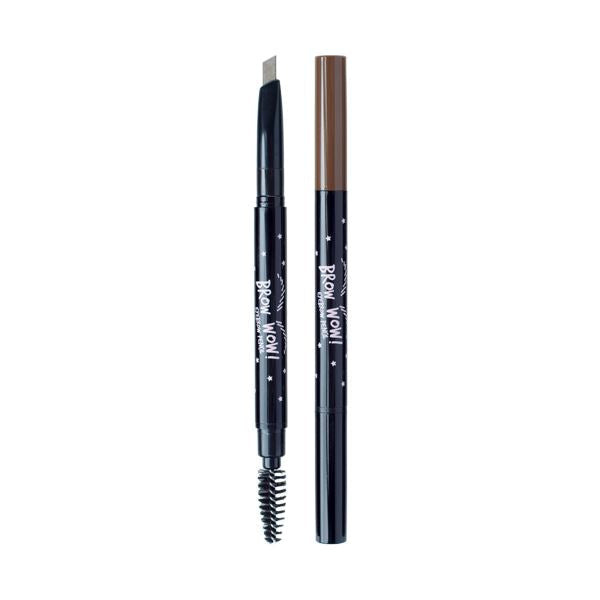 Brow Wow Eyebrow Pencil (0.18g) A'BLOOM 02 Dark Brown