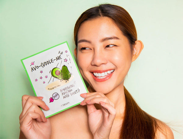 Avo-Cuddle-Me Nourishing Avocado Mask (10 Sheets) A'BLOOM