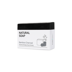 Bamboo Charcoal Natural Soap (90g)