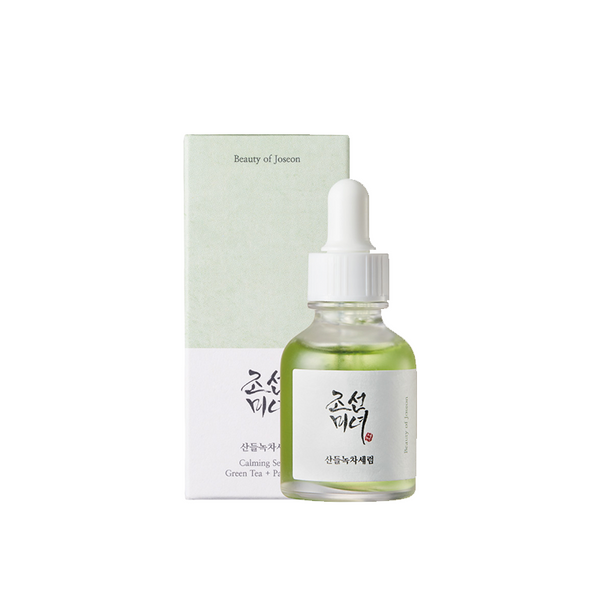 Calming Serum : Green tea + Panthenol (30ml)