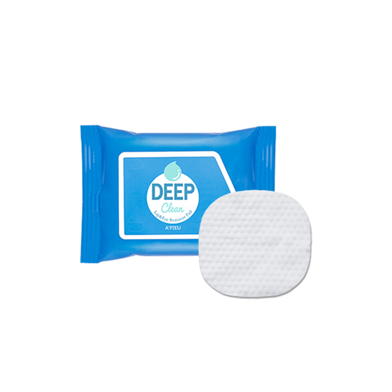 Deep Clean Lip & Eye Remover Pads (30ea)