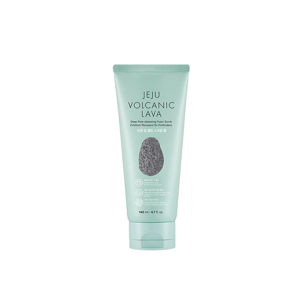 Jeju Volcanic Lava Deep Pore Cleansing Scrub Foam (140ml)