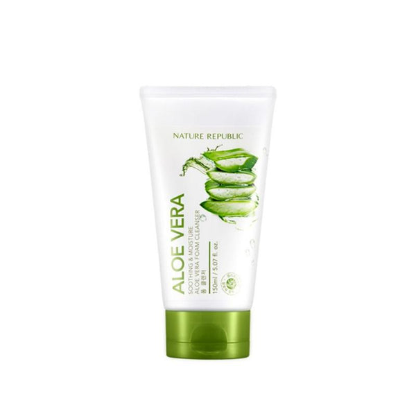 Soothing & Moisture Aloe Vera Foam Cleanser (150ml)