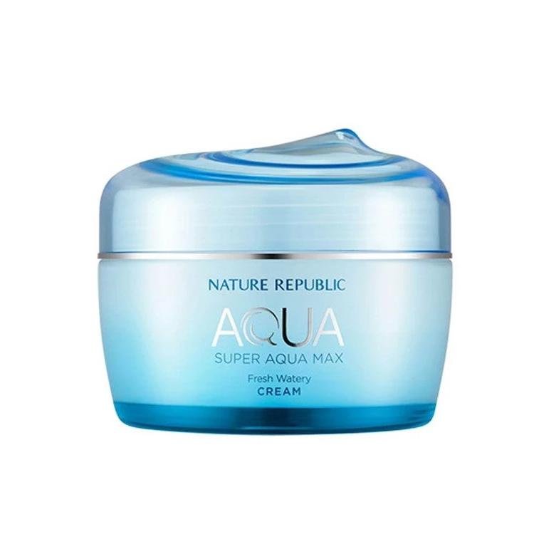 Super Aqua Max Cream (80ml) NATURE REPUBLIC Fresh Watery