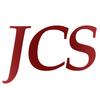 The logo for JCS. A font based logo with an ombre red colour scheme.