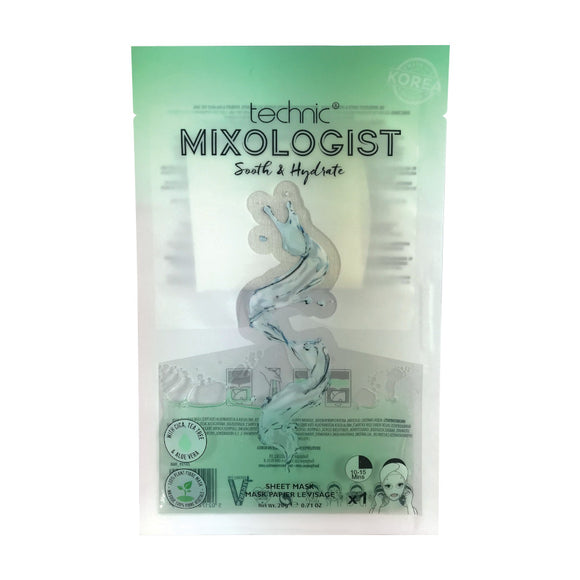 Technic Mixologist Soothe and Hydrate Sheet Mask