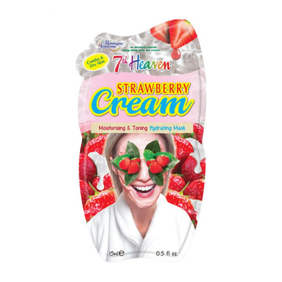 7th Heaven Strawberry Cream Face Mask