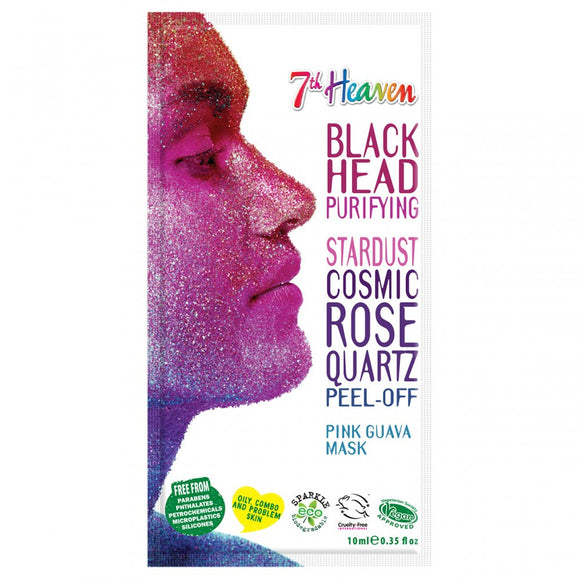 7th Heaven Stardust Black Head Cosmic Rose Peel Off Face Mask