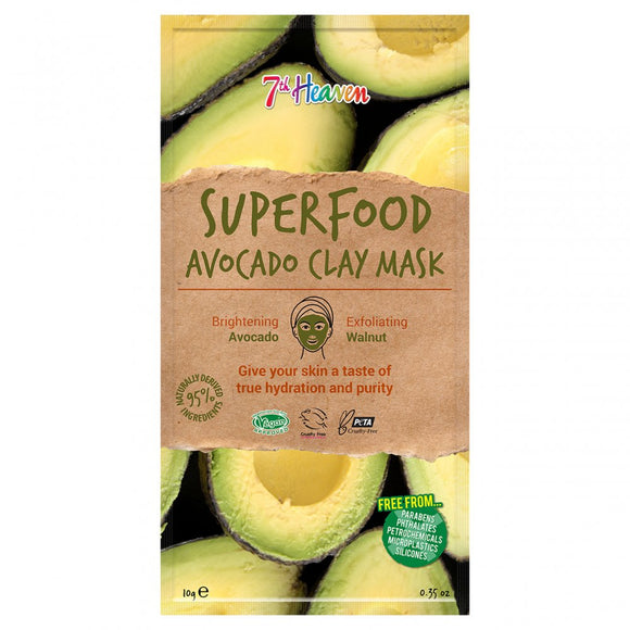 7th Heaven Montagne Jeunesse Superfood Avocado Clay Mask