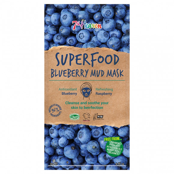 7th Heaven Montagne Jeunesse Superfood Blueberry Mud Mask