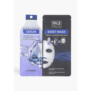 Face Facts Nutrition Infusion Serum Sheet Mask - 25ml